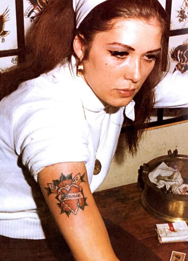 Tattoo Peter - Amsterdam 1970 - corazones