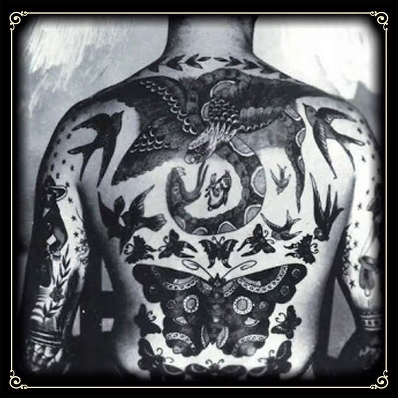 La Simbologia De Los Tatuajes Tradicionales 1 2 No Land Tattoo