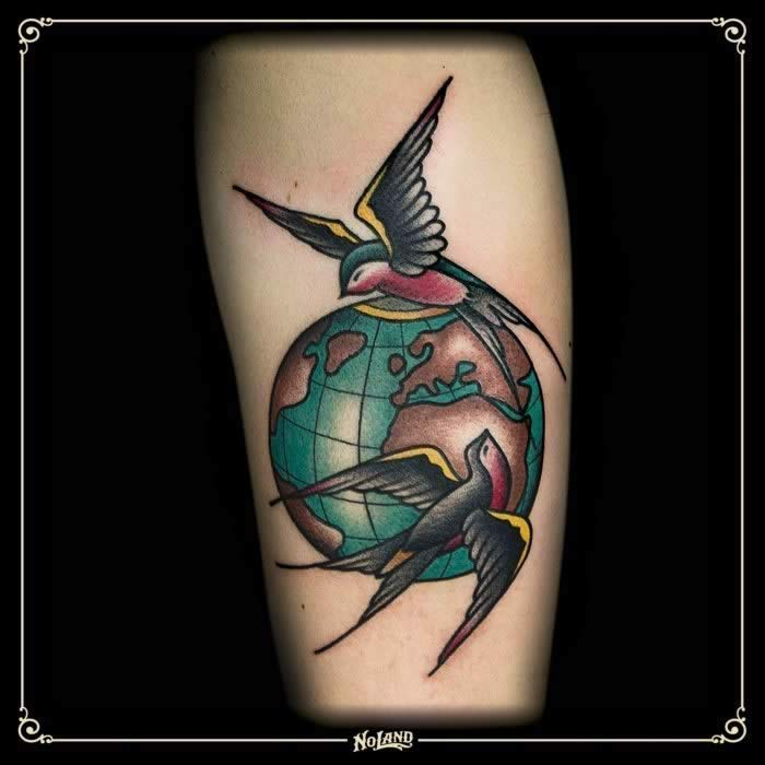 No Land Tattoo Parlour