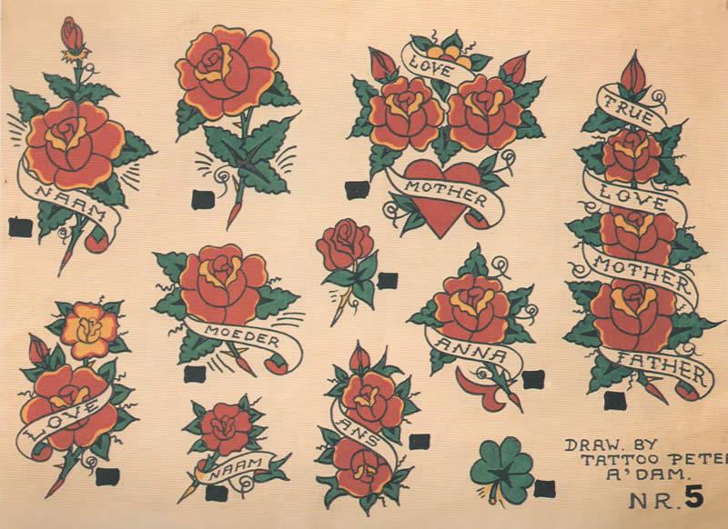 La Simbologia De Los Tatuajes Tradicionales 2 2 No Land Tattoo