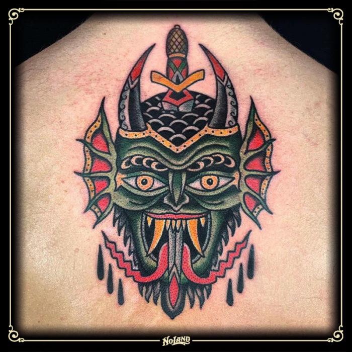 no land tattoo