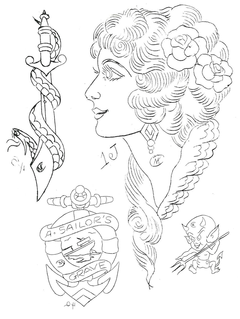 Sailor Jerry From Pioneer Of The Traditional To Influence The Neotraditoional No Land Tattoo Parlour