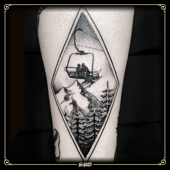 No Land Tattoo estudio de tatuajes