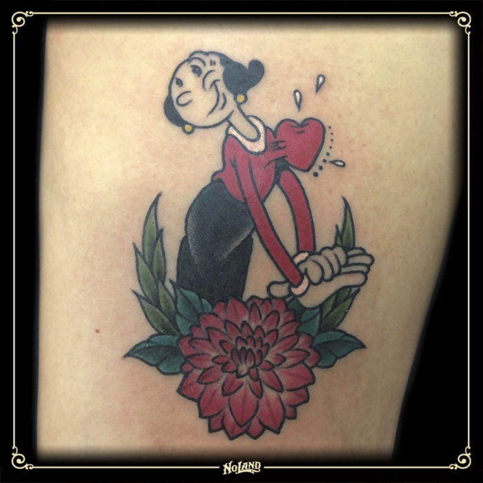 sento no land tattoo parlour olivia